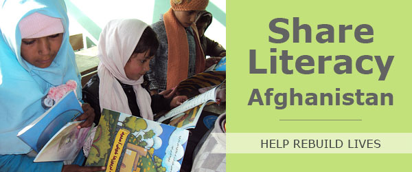 We have formed partnerships to provide children in Afghanistan with desperately needed books for distribution to schools, orphanages and libraries throughout the country to promote literacy.